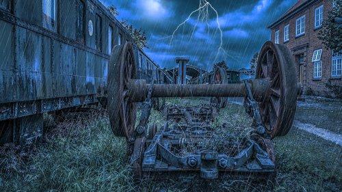 railway axis  wheel  iron
