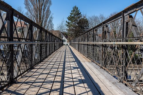 railway bridge  old  bridge