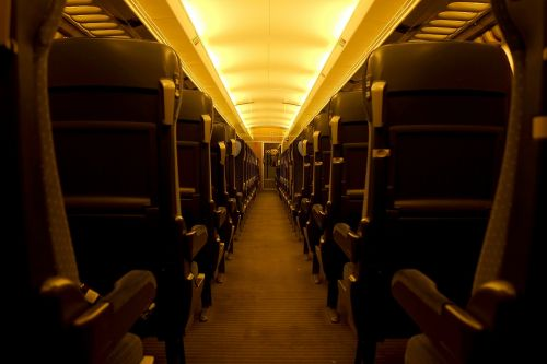 railway compartment intercity train