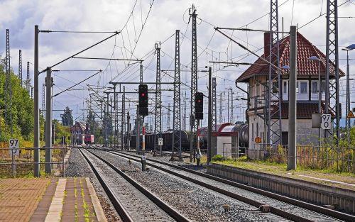 railway line route railway station