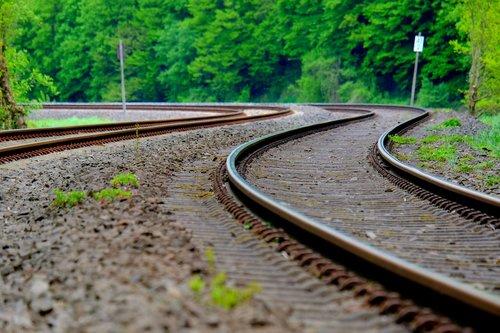 railway line  railway  train