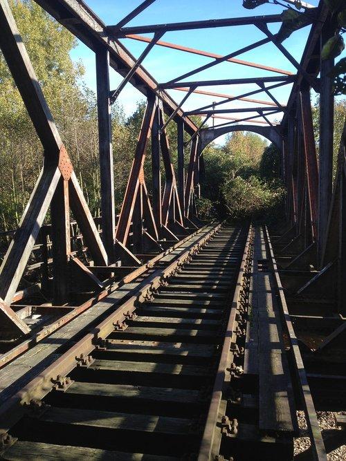 railway line  bridge  shut down