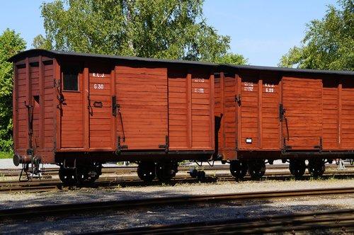 railway museum  train  wagons