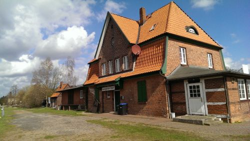 railway station amelinghausen train
