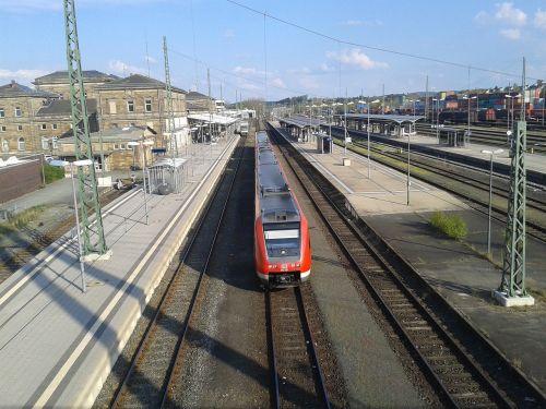 railway station hof deutsche bahn