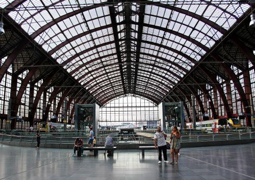 railway station concourse hall