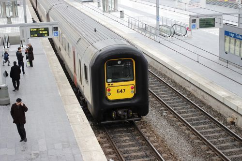 railway station train farewell