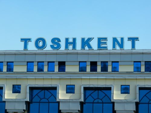 railway station tashkent uzbekistan