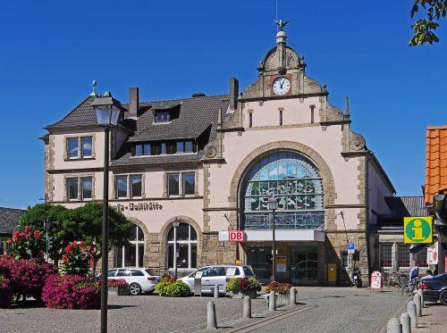 railway station bad harzburg station building