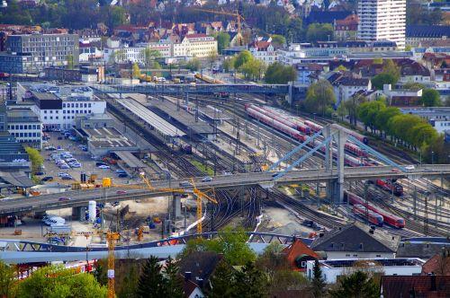 railway station ulm central station