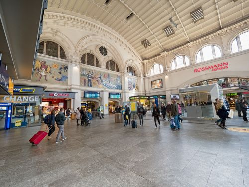 railway station bremen travel