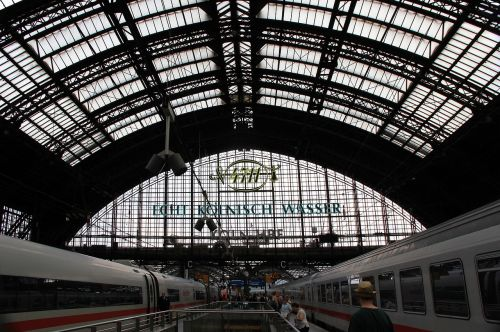 railway station cologne station roof