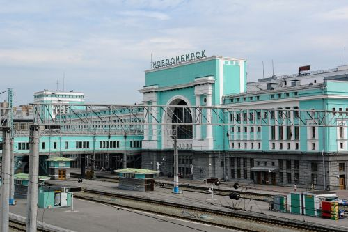 railway station russia novosibirsk