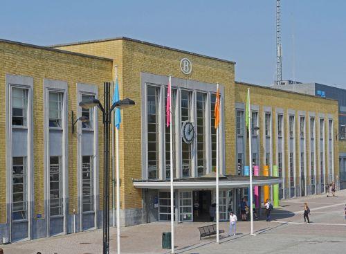 railway station bruges station building