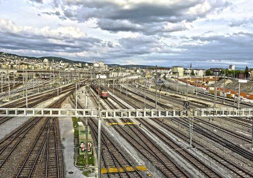 railway station train switzerland
