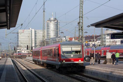 railway station s bahn red