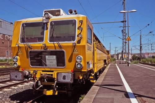 railway station  train  railway