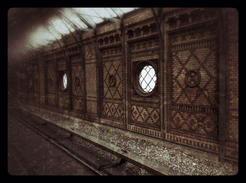 railway station s bahn architecture