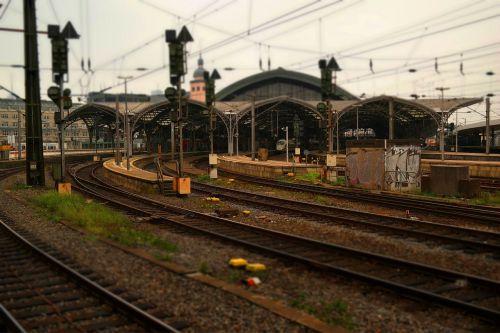 railway station cologne train