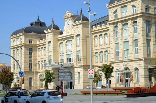 Ispanija, kelionė, lleida, lerida, katalonija, geležinkelis, lleida geležinkelio stotis, Ispanija