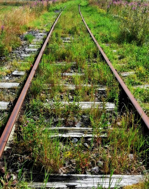 railway tracks track seemed