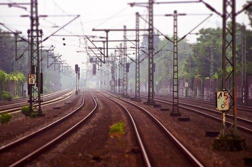 railway tracks  railway  railroad tracks
