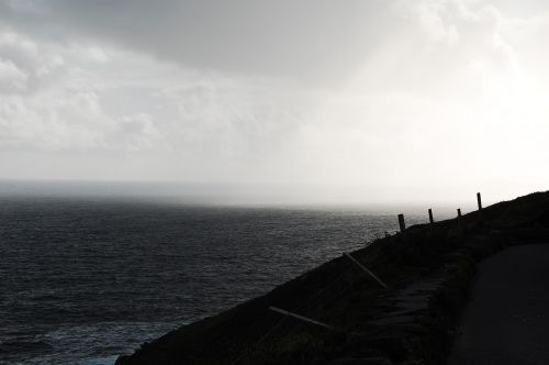 rain ireland coast
