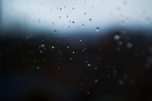 rain  drops  window