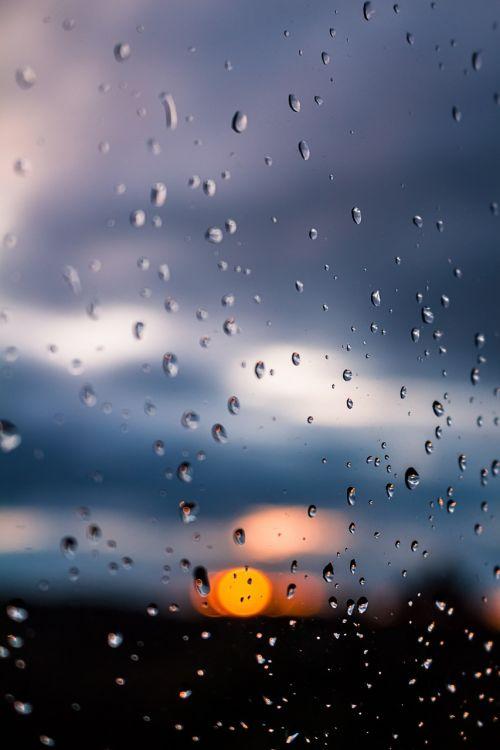 rain sun window
