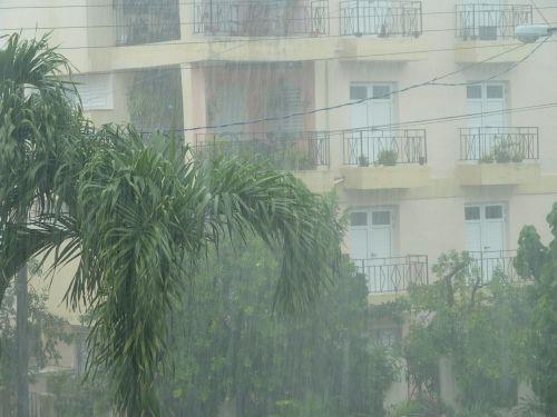 rain storm downpour