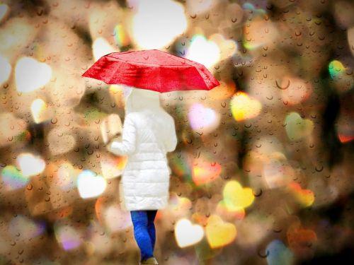 rain screen woman