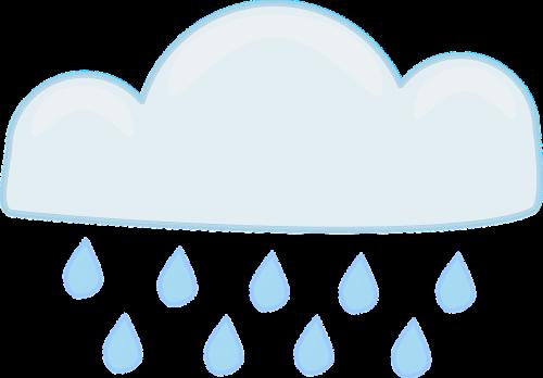 rain cloud rain storm