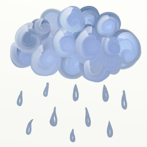 iliustracija, grafika, Iliustracijos, clip & nbsp, menas, lietus, lietus, lietus & nbsp, lašai, debesis, Debesuota, oras, dažyti, rain cloud clipart