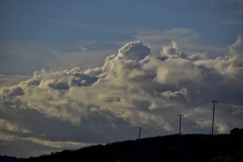 Rain Clouds On The Horizon