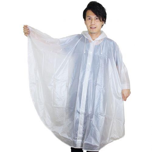 rain coat person the rainy season