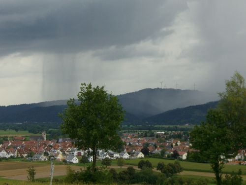 rain curtain gamis gewitterstimmung