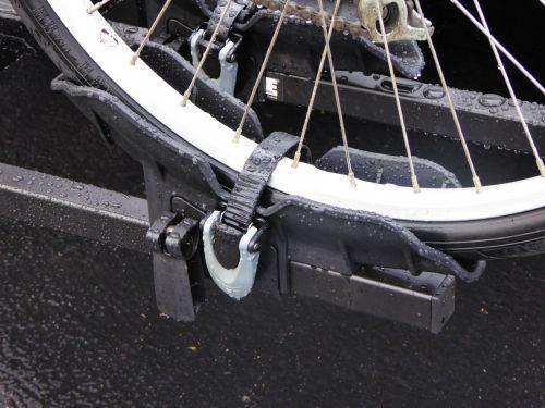 Rain Soaked Bike Tire