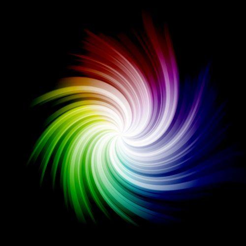 rainbow swirl twirl