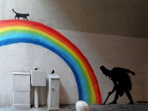 rainbow city murals