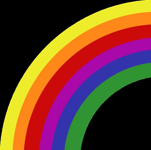 rainbow colors symbol