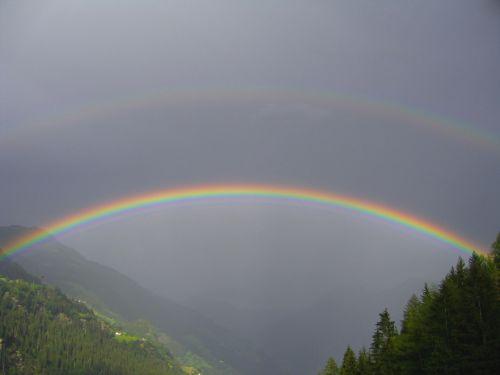 vaivorykštė,debesys,nuotaika,dangus,oras,natūralus spektaklis,orų reiškinys