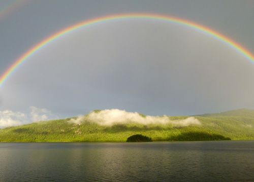rainbow canim lake british columbia
