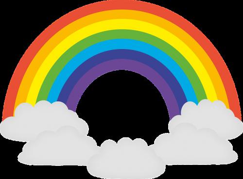 rainbow colorful prism