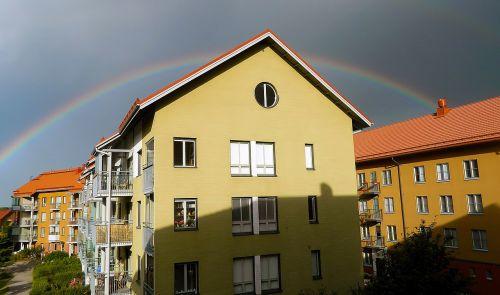 rainbow natural phenomenon refraction of light