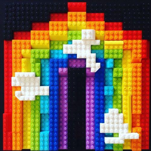 rainbow multicolored colour