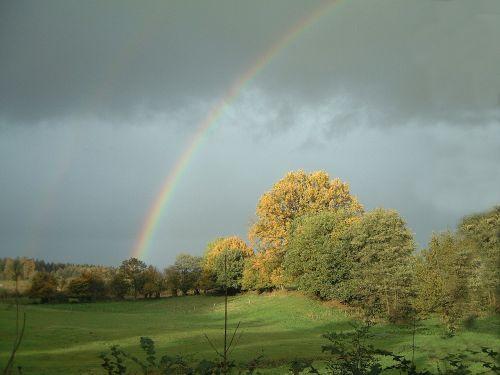 rainbow mood autumn