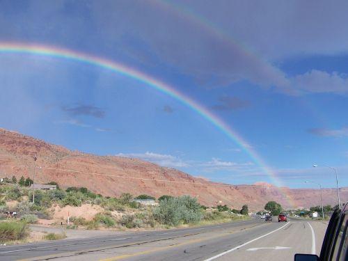 rainbow moab moab rim