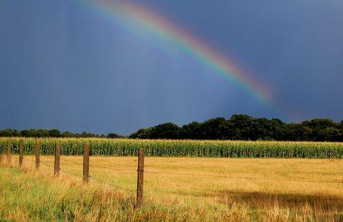 rainbow autumn natural spectacle