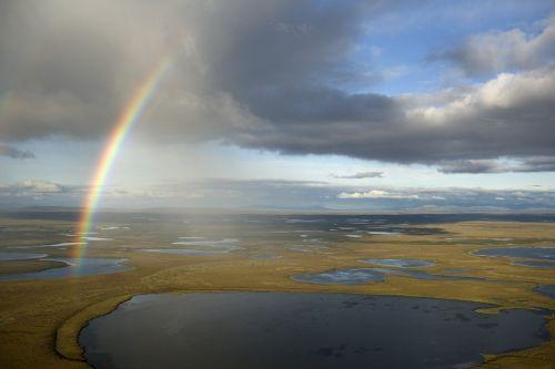 rainbow sky colorful