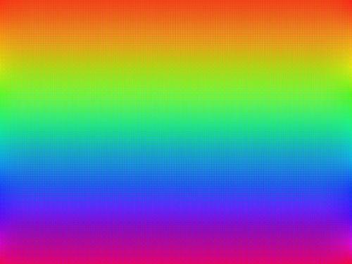 rainbow colour bright